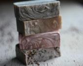 Handmade Soap Gift Set Choose 4 Handmade Soap Full Size Large Bars
