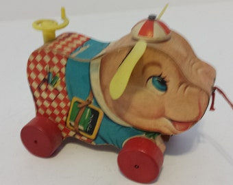 Fisher Price Peter Pig - 1959