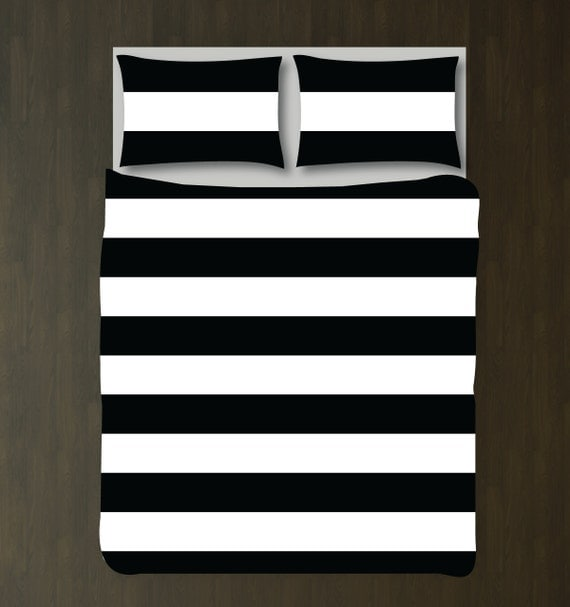 custom rugby striped duvet bedding set-bubble gum pink and