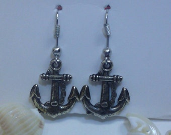 Anchor Earrings Handmade Gorgeous Simple and Chic
