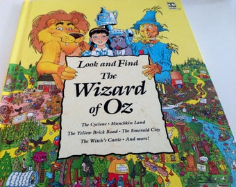 The Wizard of Oz - Look and Find Hardback - 1993