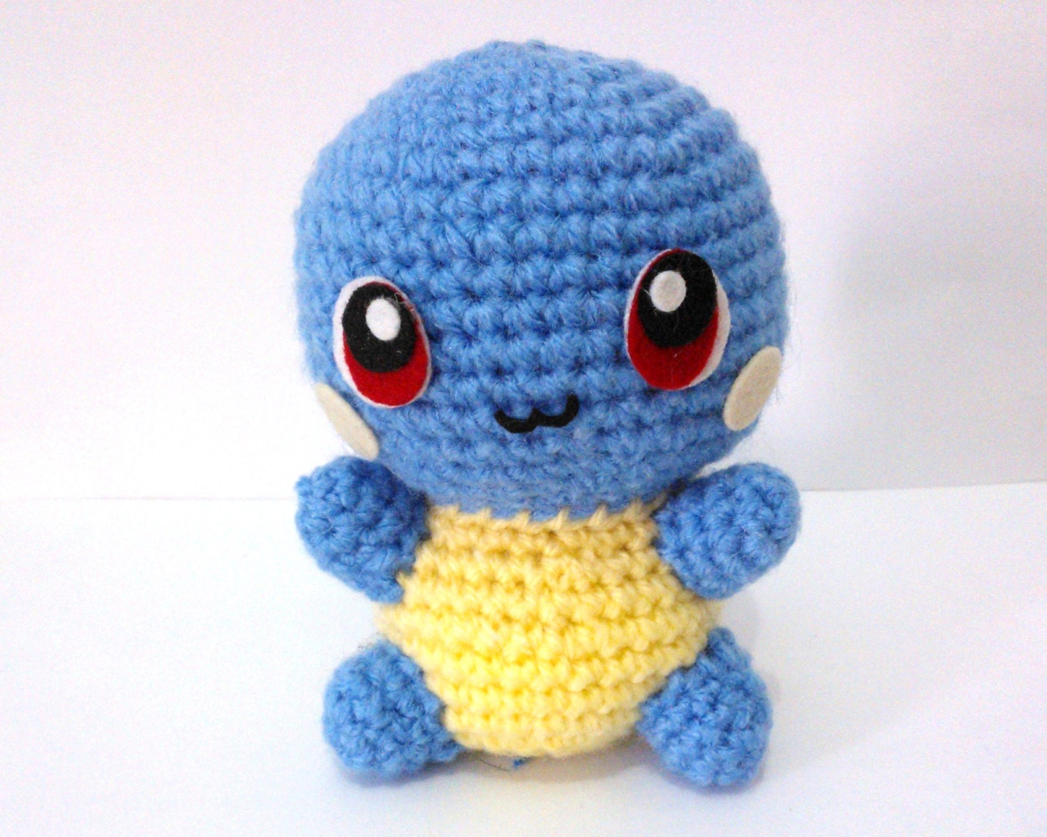 AMIGURUMI SQUIRTLE PDF Pattern Instant Download