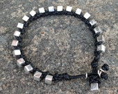 Bracelet Colo 21 Sterling Silver .925 Leather Handmade (B121SS-L)