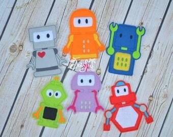 Robot finger puppets
