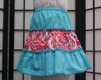 2T 3 Tier Skirt, Cotton Skirt