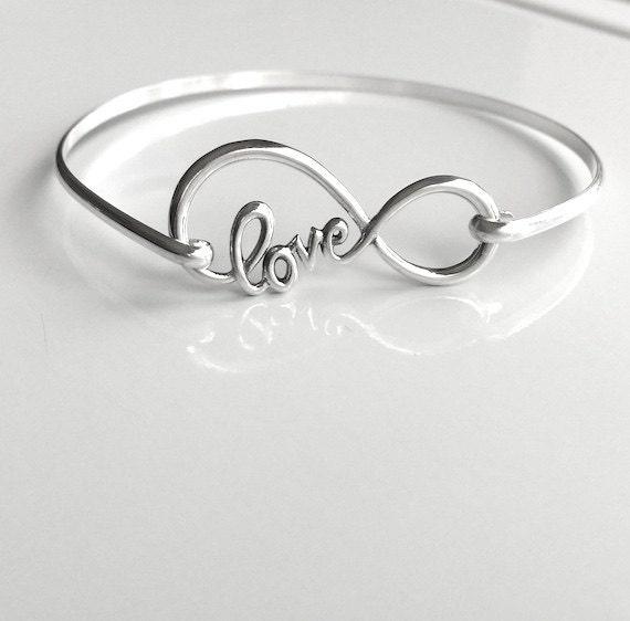 infinity love bracelet. like this item? infinity love bracelet