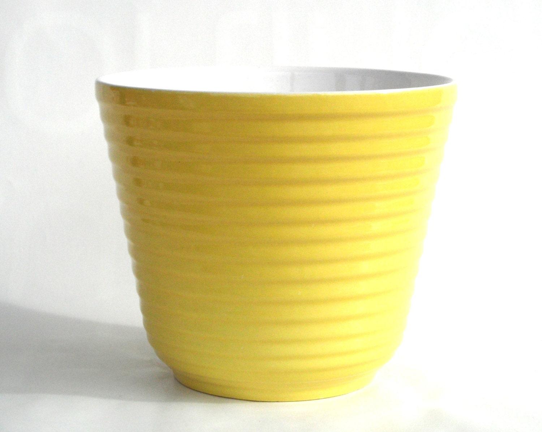 Yellow flower pots ceramic greenfain large ceramic planters100 white ceramic planter white short mightylinksfo