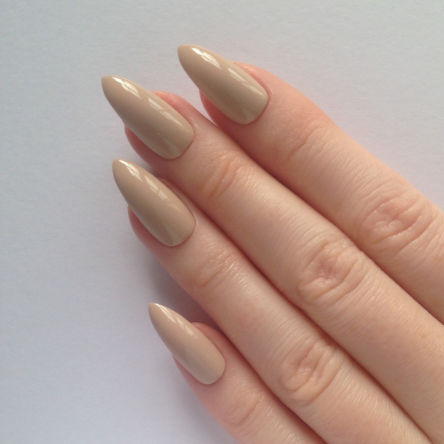 Today Live Sports: Nude Stiletto nails, Nail designs, Nail art ...