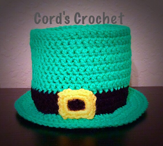 Crochet Pattern Leprechaun Hat : Leprechaun crochet hat by CordsCrochet on Etsy