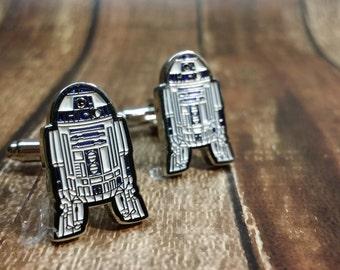 R2D2 Star Wars cufflink - Driod cufflink