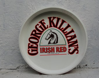 George Killian's Irish Red Vintage Heavy Plastic Beer Tray