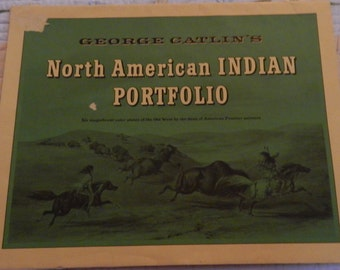 1956 George Catlin's North American Indian Portfolio