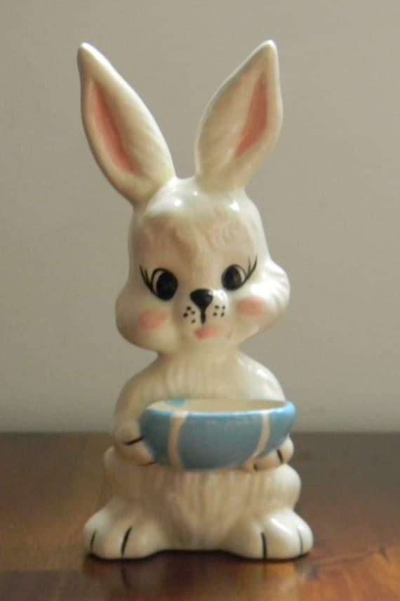 Bunny Rabbit Ceramic Dish