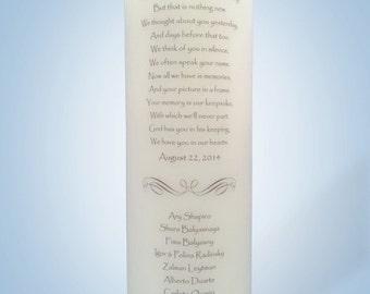 Wedding Memorial Candles 12