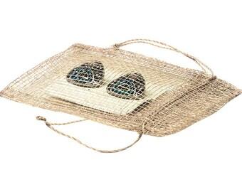 "3x4"" Pouch Bag, 100 Pcs Natural Drawstring Pouch Bag"