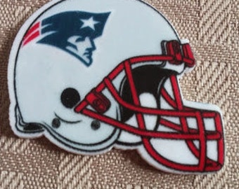 Patriots resin- New England centers- hair bow resin- crafting resin-