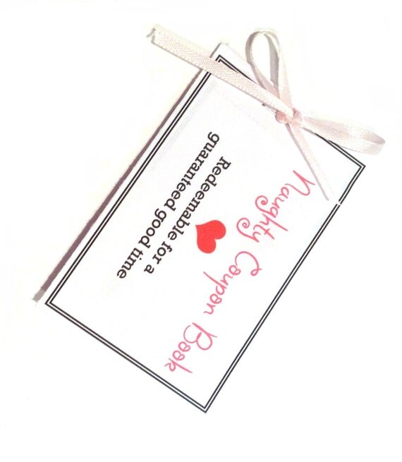 Romantic Anniversary Gift Girlfriend Gift Coupon Book: Naughty Coupon Book Sexy Coupons Last Minute Gift For