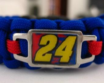 Jeff Gordon NASCAR Paracord Bracelet