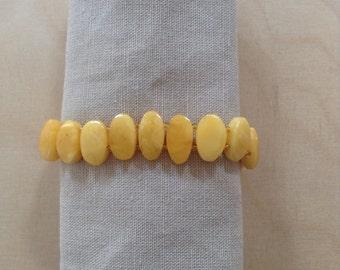 1970s amber bracelet