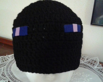 "Enderman Look-Alike - Minecraft - ""Eye"" or hat color your choice"