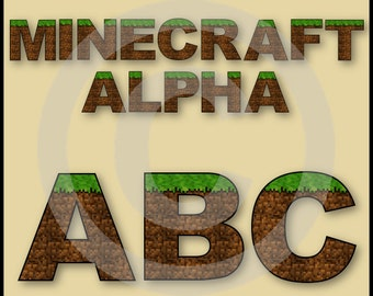 Printable Minecraft Clipart