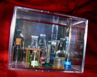 Mad Scientist Laboratory ..(What Makes Him Mad?) He has a Love Potion Ready to Drink......(We combine Shipping on All)