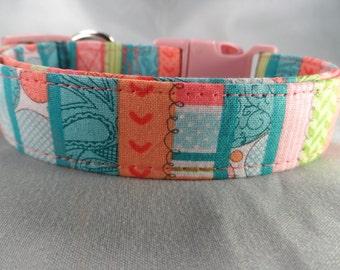 Pretty Girl Stripe Dog Collar