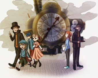 Professor Layton: The Unwound Future- PRINT