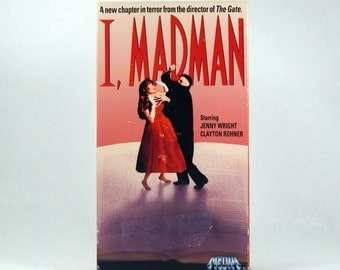 I Madman VHS, Horror Thriller 1989