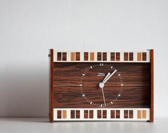Diehl Electronic Table Side Clock, Diehl Vintage German Clock, Desk Clock, Modern Home Decor, Junghans Movement