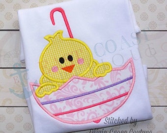 SPRING CHICK machine embroidery design