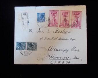 1956 Vintage Envelope