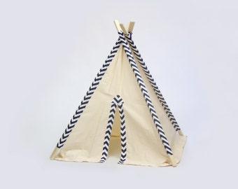 Kid's Teepee Play Tent No. 0277 - Our Original Teepee Tent Design