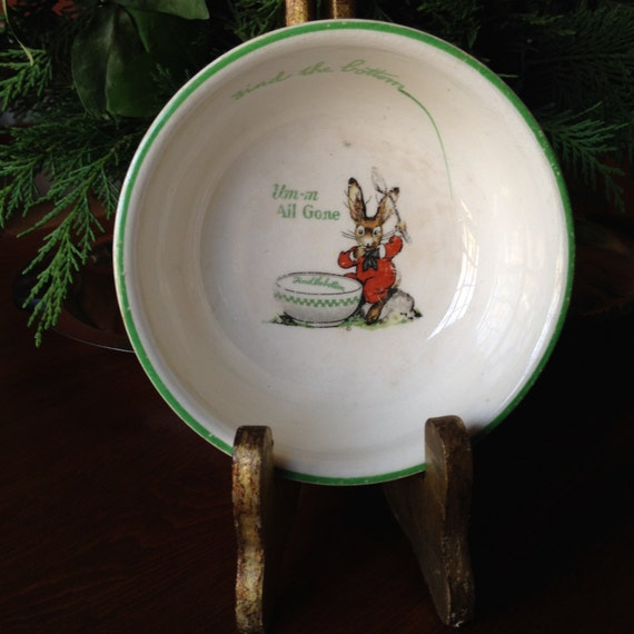 Ralston Purina Children's Cereal Bowl 1925 Great
