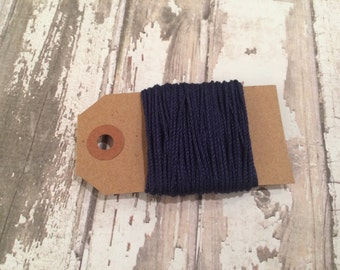 10 Yards of Solid Navy Blue Baker's Twine