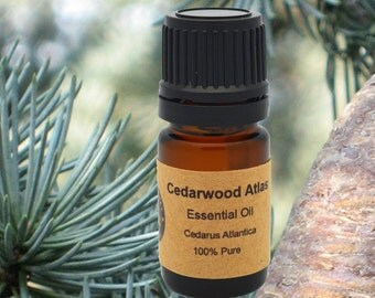 Cedarwood Atlas Essential Oil 5ml, 10 ml or 15 ml