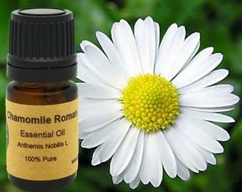 Chamomile Roman Essential Oil 5ml, 10 ml or 15 ml