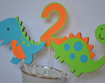 Dinosaur Cake Toppers or Centerpieces