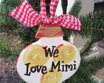 Mimi Christmas ornament