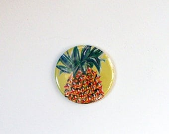 Pineapple 58mm Pocket Mirror