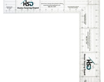 """16"""" Folding Square Ruler 11-16-FS for Quilting, Woodworking and Crafts"""