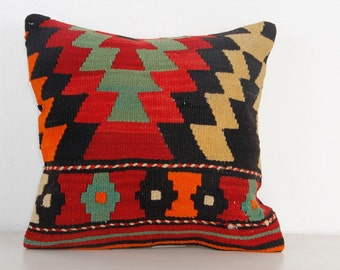Popular Items For Red Kilim Pillows On Etsy