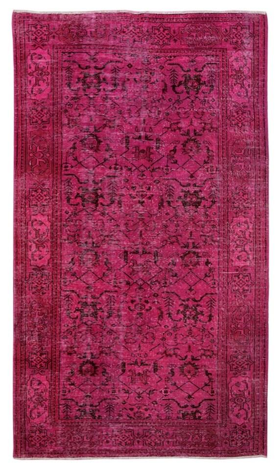 280 x 160 cm FUCHSIA Teppich, türkischer Teppich