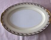 """Noritake  Platter 16"""" Devon Pattern"""