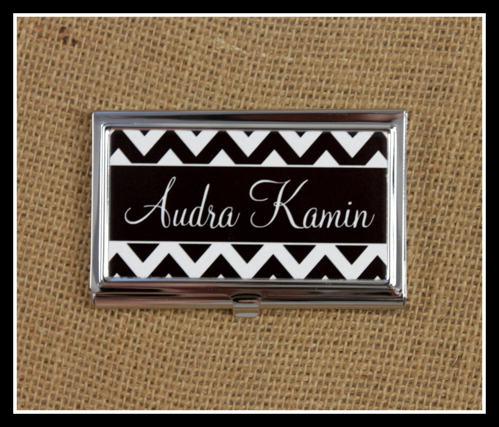 Perfect Monogrammed Business Card Case Photos - Business Card Ideas ...