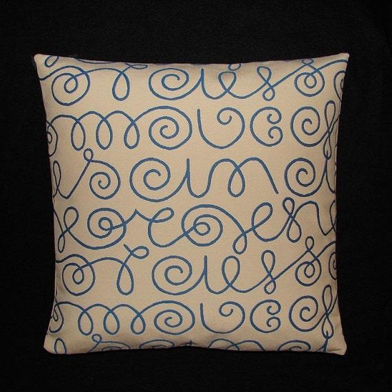 Maia Modern Pillows : Names by Alexander Girard 1957 Maharam Mid-century Modern