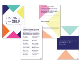 PRINTABLE Finding Yourself PDF Workbook