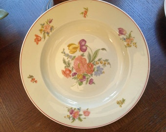 Vintage Dinner Plate Franciscan Desert By 4hollylaneantiques