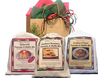 Pancake Lovers Sampler, includes Gift Bag, Gfit Card, and Free Shipping