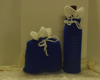 Crochet Wine and Gift Bag